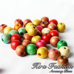 Wooden Beads   size  12 mm.