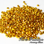 Plastic Gold   size  4 mm